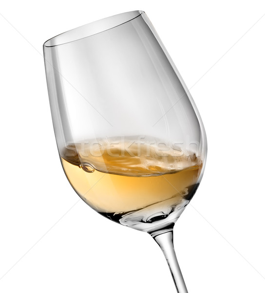Wave in wineglass Stock photo © Givaga