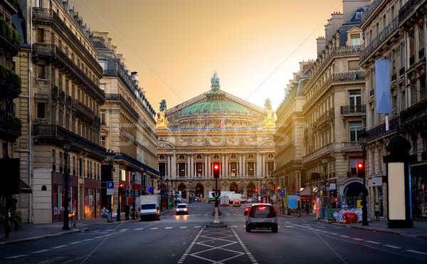 ópera Paris edifício França música Foto stock © Givaga