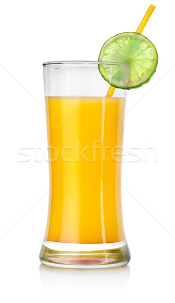 Orange cocktail in a big glass Stock photo © Givaga