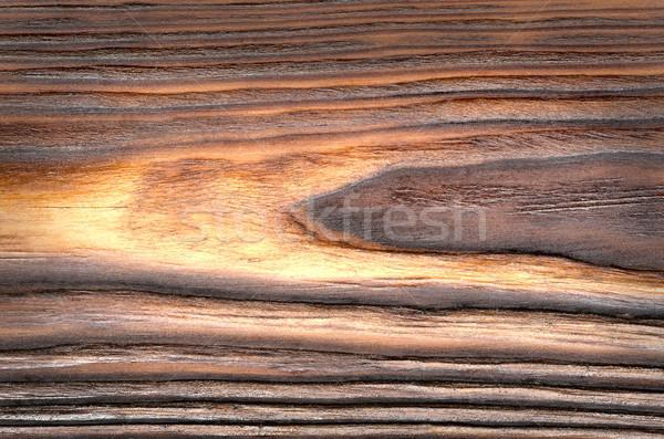 Foto stock: Edad · grunge · marrón · madera · panel · utilizado