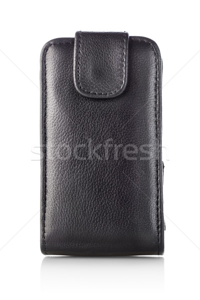 Black case for mobile Stock photo © Givaga