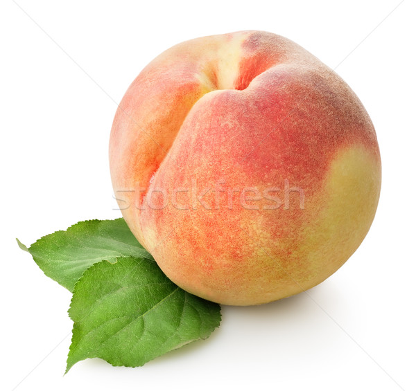 Delicious peach Stock photo © Givaga