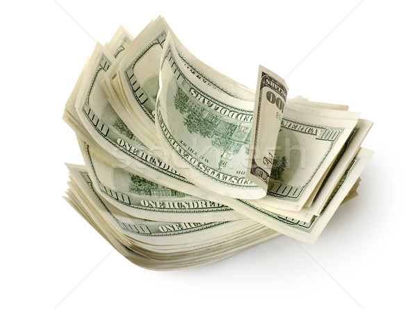 Pack of dollars Stock photo © Givaga