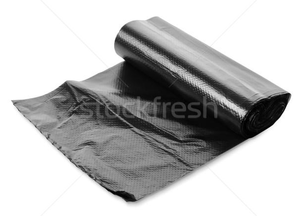 Black garbage bag Stock photo © Givaga