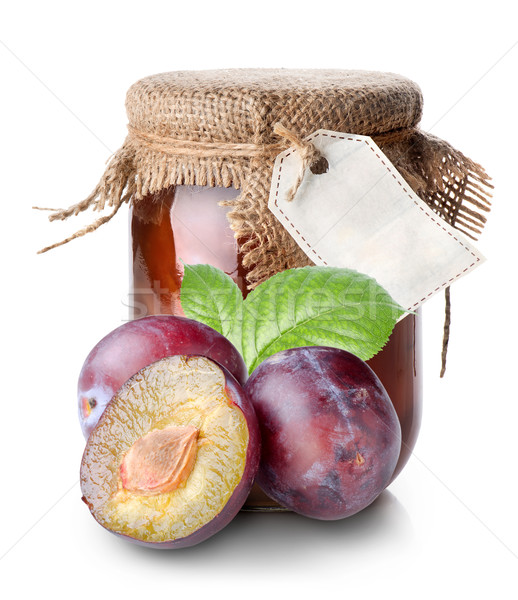Plums and confiture Stock photo © Givaga