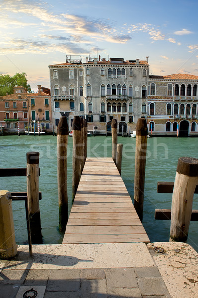 Jetty in Venice Stock photo © Givaga