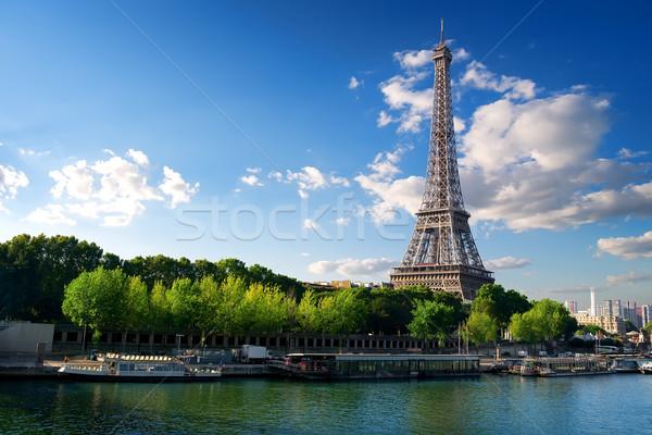 Tournée eiffel Paris vue Tour Eiffel France Photo stock © Givaga
