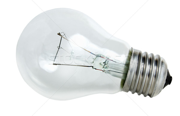Light bulb isolated Stock photo © Givaga