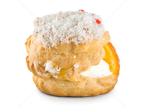 ケーキ クリーム 孤立した 白 ストックフォト © Givaga