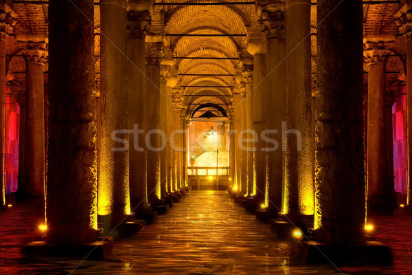 Basilica Cistern in Istanbul Stock photo © Givaga