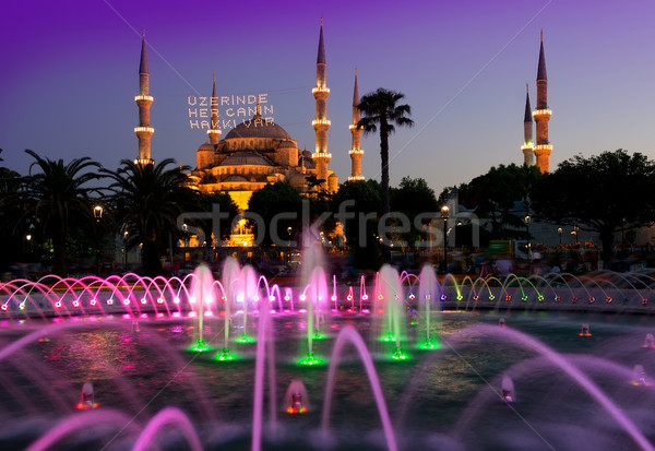 Sultan Ahmed Mosque Stock photo © Givaga