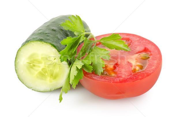 Tomato and cucumber Stock photo © Givaga