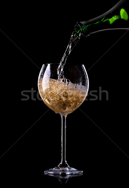 Beautiful champagne Stock photo © Givaga