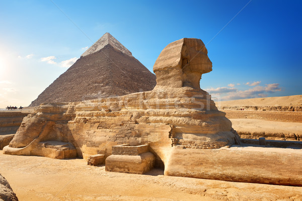Ancient Sphinx Stock photo © Givaga