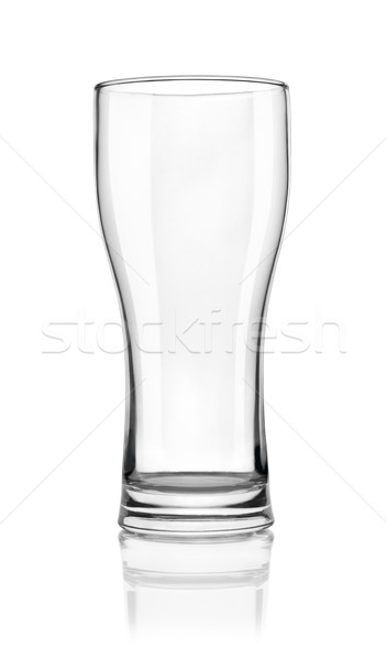 Empty beer glass Stock photo © Givaga