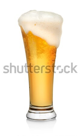 Glass of beer Stock photo © Givaga