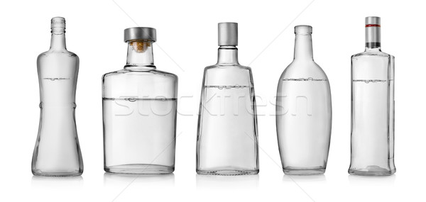 Bottles of vodka Stock photo © Givaga