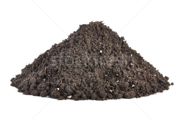 Pile of soil Stock photo © Givaga