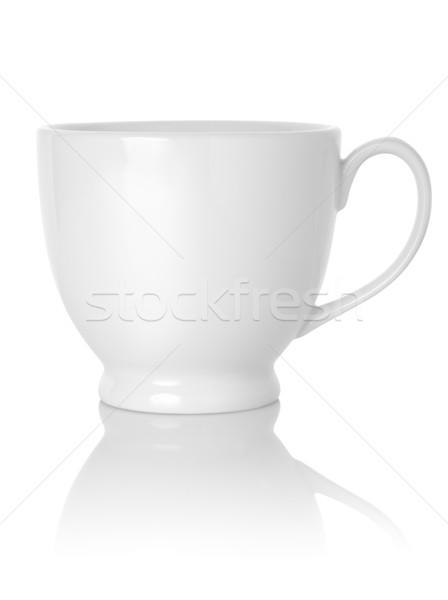 Taza de té aislado blanco camino Foto stock © Givaga