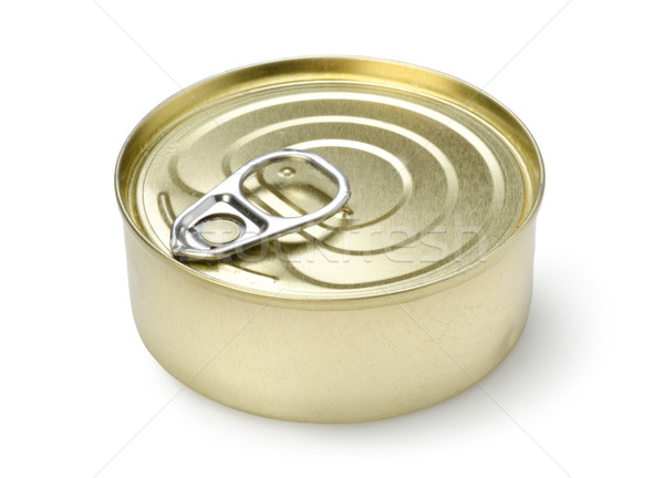 Canned pate isolated Stock photo © Givaga