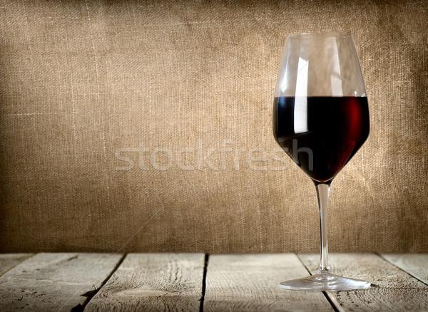 Glass of dessert wine Stock photo © Givaga