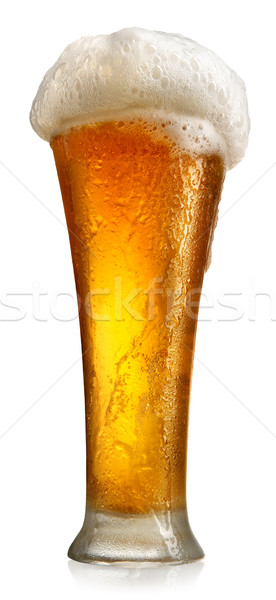 Tumbler with beer Stock photo © Givaga