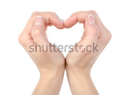 Heart shape isolated Stock photo © Givaga