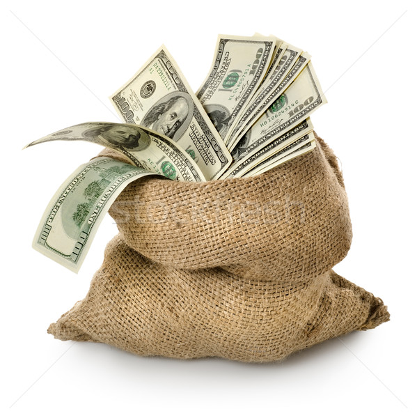 Money in the old bag Stock photo © Givaga