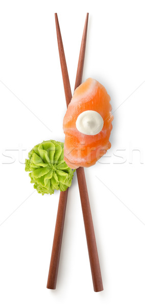 Chinese sticks and sushi Stock photo © Givaga