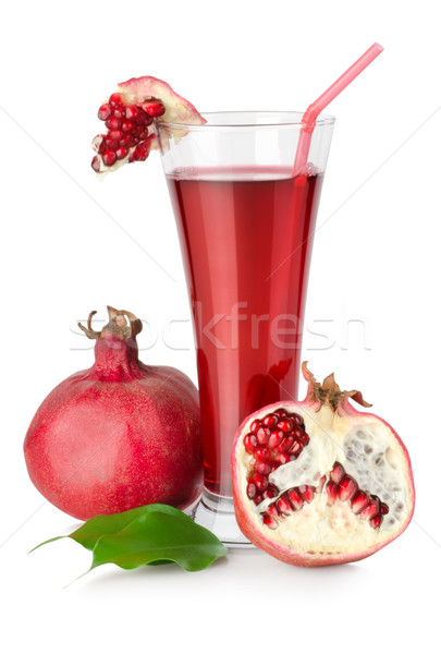 Pomegranate juice Stock photo © Givaga