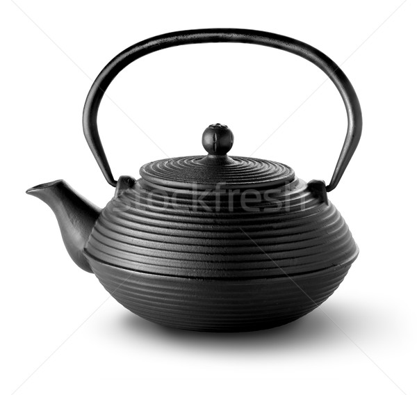 Chinese teapot isolated Stock photo © Givaga