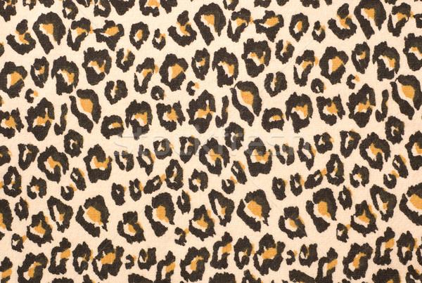 Leopard print textured background Stock photo © Givaga