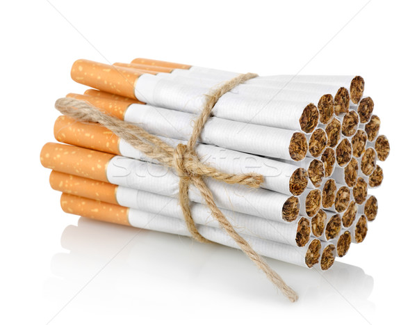 Bunch of cigarettes isolated Stock photo © Givaga