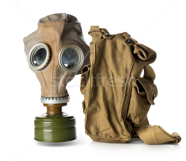 Respirator with bag Stock photo © Givaga