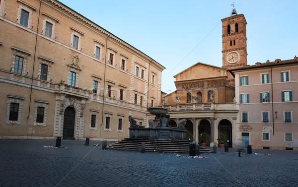 Santa Maria in Trastevere Stock photo © Givaga