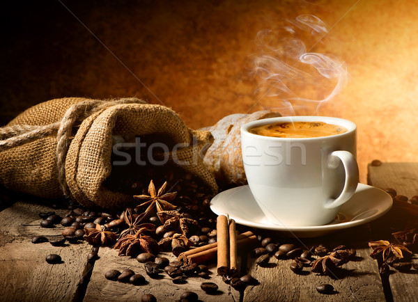 Coffee and spices Stock photo © Givaga