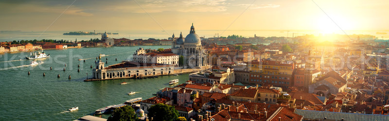 Top view of Venice Stock photo © Givaga