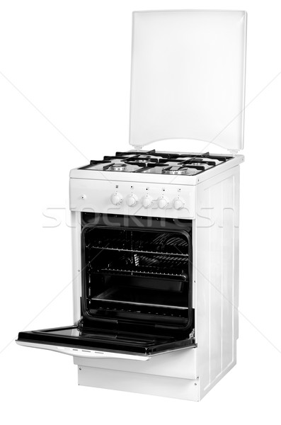 Stock photo: Gas cooker