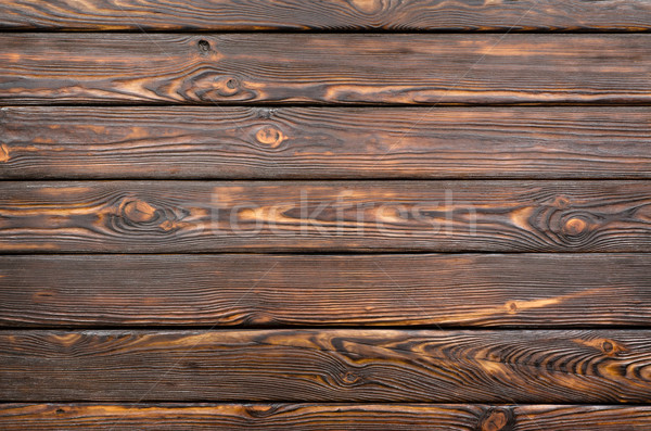 Old dark wooden board Stock photo © Givaga