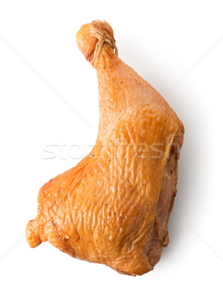 Smoked chicken leg quarter Stock photo © Givaga
