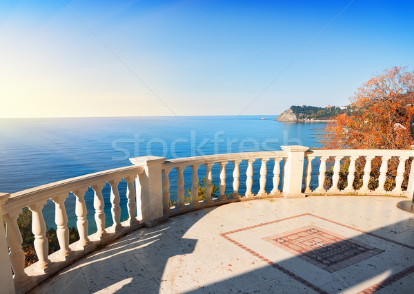 Observation deck over the sea Stock photo © Givaga