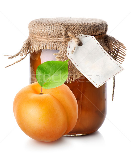 Apricot and jam Stock photo © Givaga