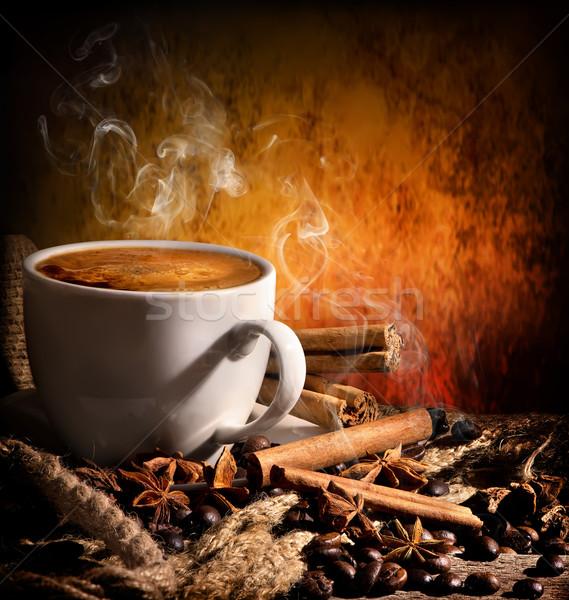 Coffee still life Stock photo © Givaga
