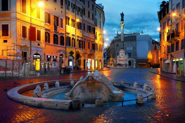 Piazza di Spagna Stock photo © Givaga