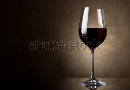 Wineglass vintage Stock photo © Givaga