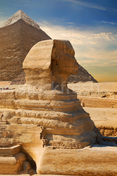 Ancient Sphinx Egypt Stock photo © Givaga