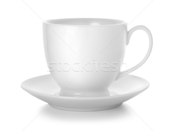 Coffee cup and saucer Stock photo © Givaga