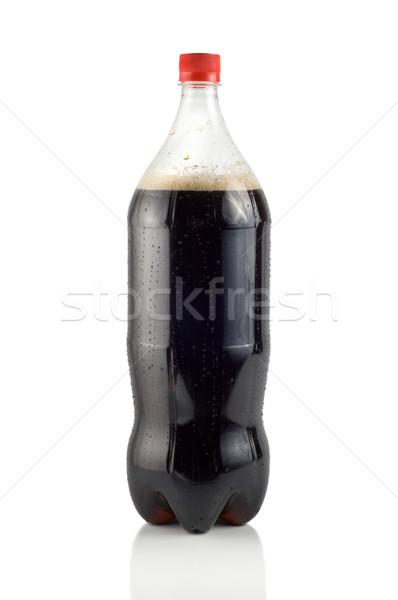 бутылку соды пути изолированный белый Сток-фото © Givaga