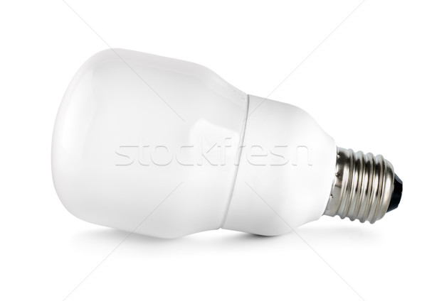 Energy saving compact fluorescent lightbulb Stock photo © Givaga