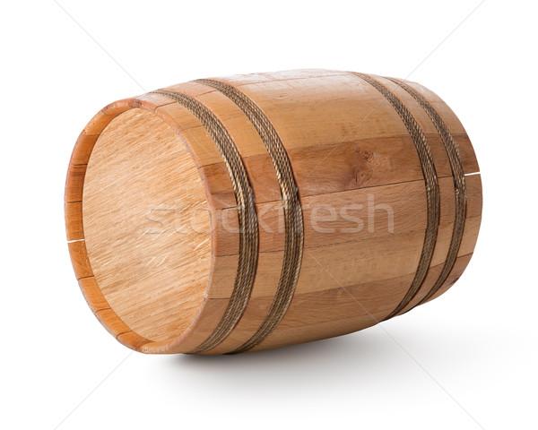 Wooden barrel Stock photo © Givaga